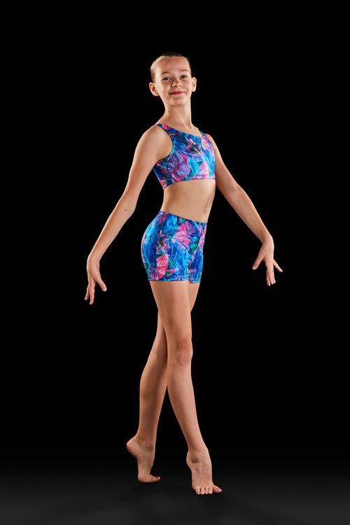Bloch Gymnastics (Dynami) Wild One Girls Crop Top - GB176C
