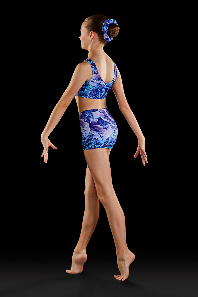 Bloch Gymnastics (Dynami) Dreamy Blooms Girls Shorts - GB182C