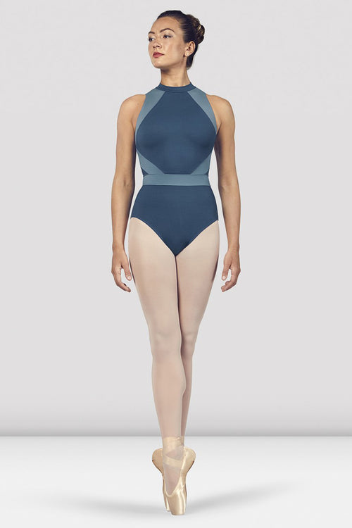 Bloch Ladies Alia Halter Neck Open Back Leotard - L4965