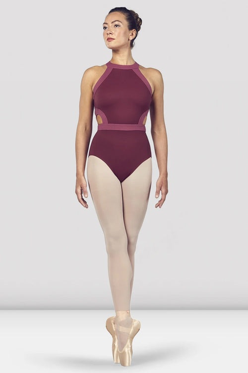 Bloch Ladies Shreya Halter Neck Open Back Leotard - L4975