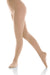 Mondor Ladies Footed Natural Satin Skating Tight - MD3371