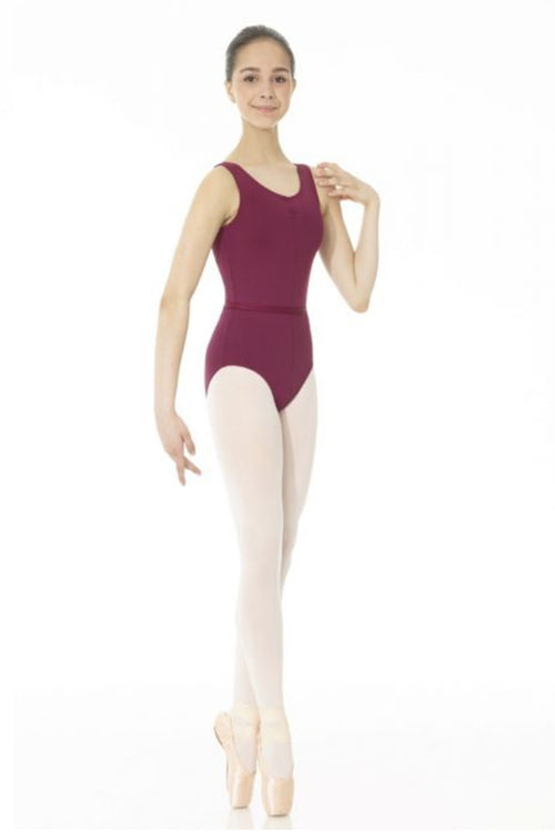 Mondor Ladies Pinch Front Tank Royal Academy of Dance Leotard - MD3546L