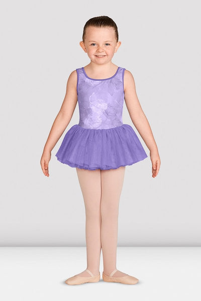 Mirella Print Tank Girls Tutu Dress - M466C