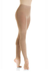 Mondor Children Footless Tights - MD312 (Pink & Sun Tan)