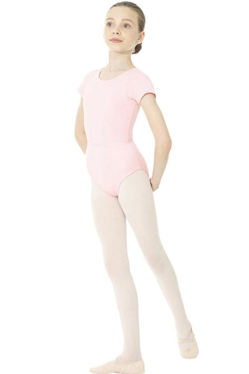 Mondor Child Royal Academy of Dance short sleeve leotard - MD1635C