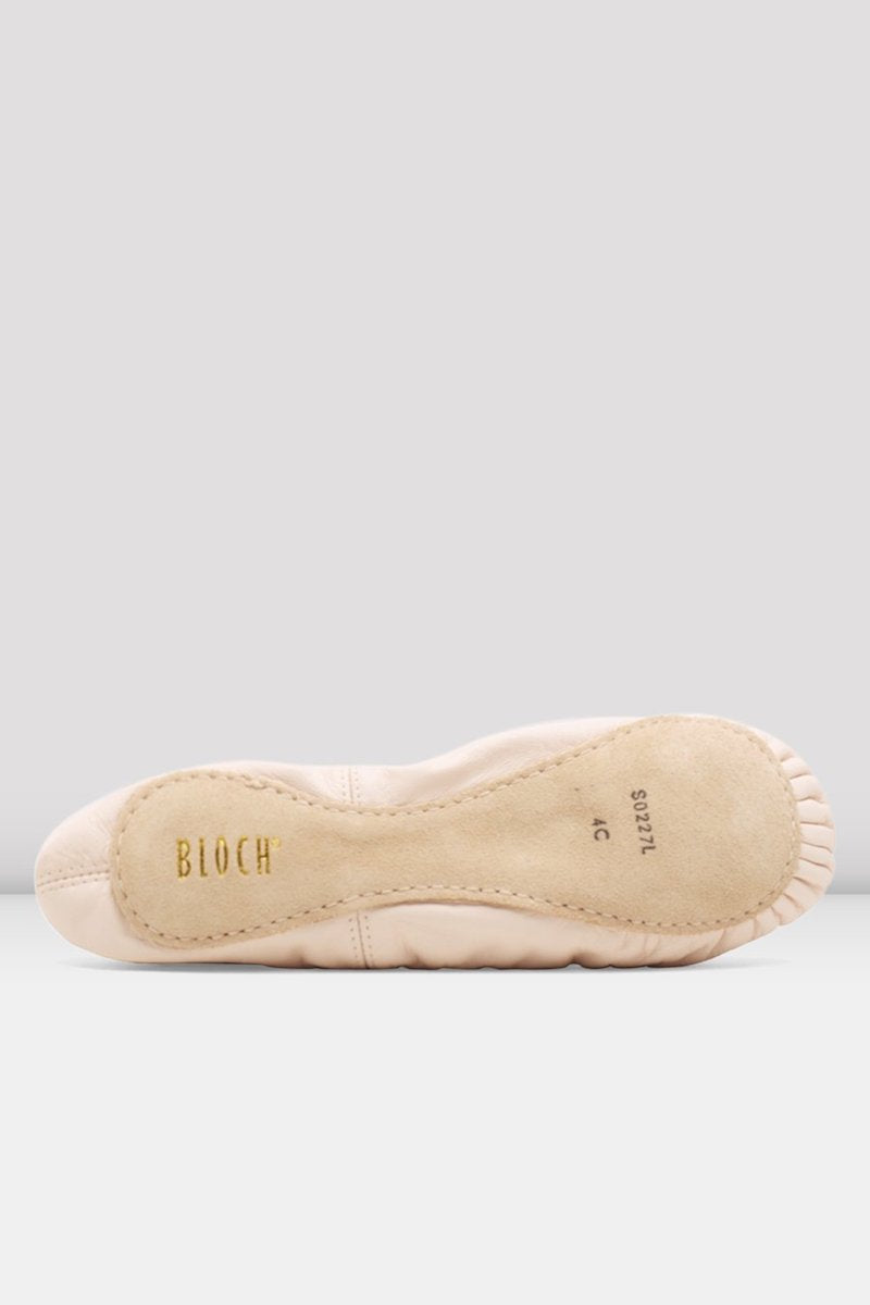 Bloch Girls Belle Leather Ballet Shoes - S0227C