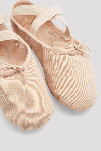 Bloch Ladies Zenith Stretch Canvas Ballet Shoes - S0282L