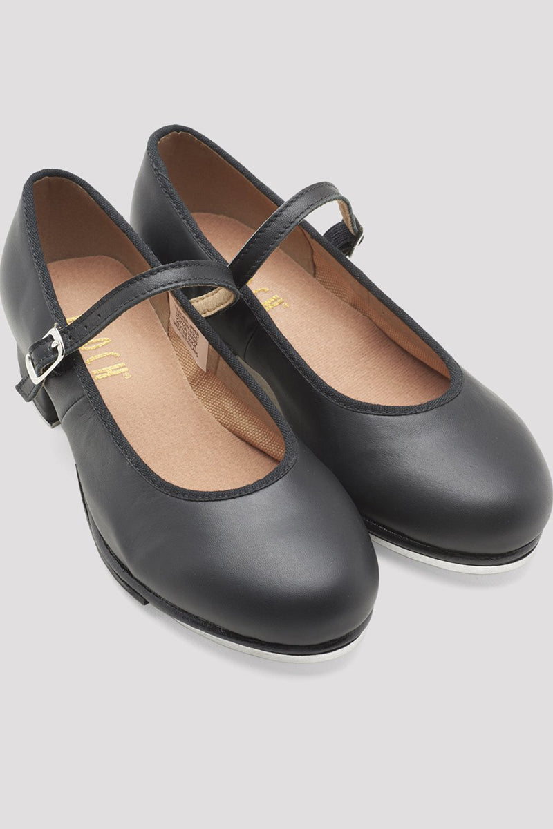 Bloch Ladies Leather Tap Shoes with Buckle - S0302L