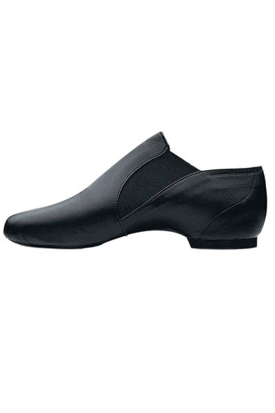 Bloch Mens Leather Elasta Jazz Booties - S0499M
