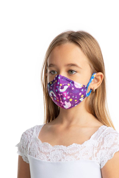 SoDanca Child Fitted Print Face Mask with Ear Loops - L2177/ SB861