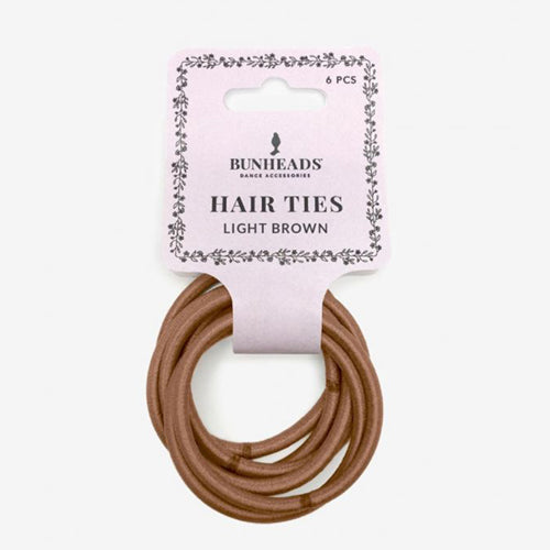 Capezio Hair Elastics X Light Brown - BH1509