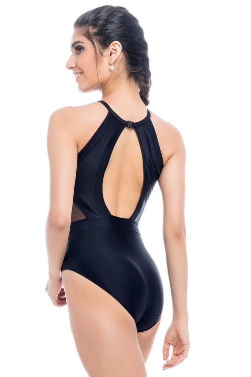 SoDanca Adult Shimmer Leotard with Clasp on Open Back - RDE2022