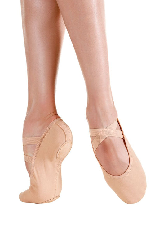 SoDanca Adult Pro Stretch Canvas Ballet Slipper - SD120 Nude (Available by special order)