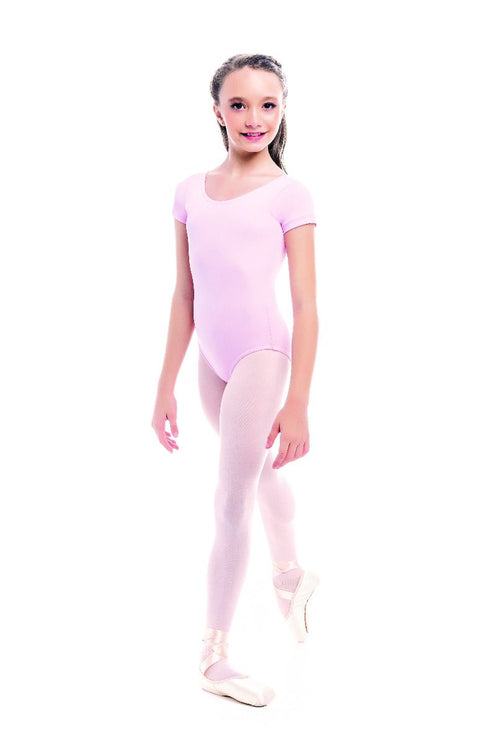 SoDanca Children Short Sleeve Leotard - SL26