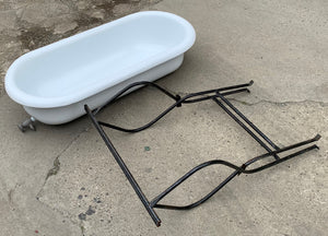 Vintage Baby Bath tub with Stand