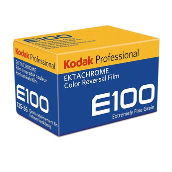 Ektachrome E100 35mm Color Reversal Slide Film 135/36exp. (ISO 100)