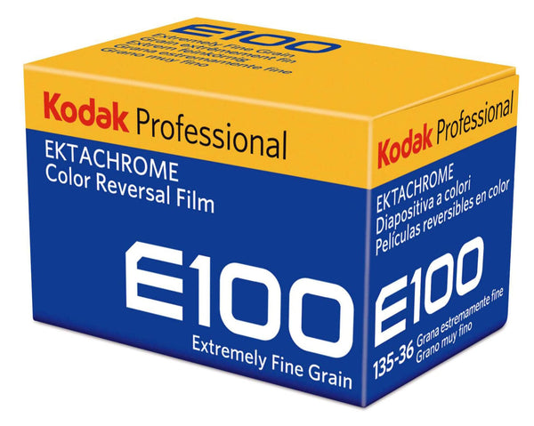 Ektachrome E100 35mm is Back! 35mm Color Reversal Film 135/36exp. (ISO 100)