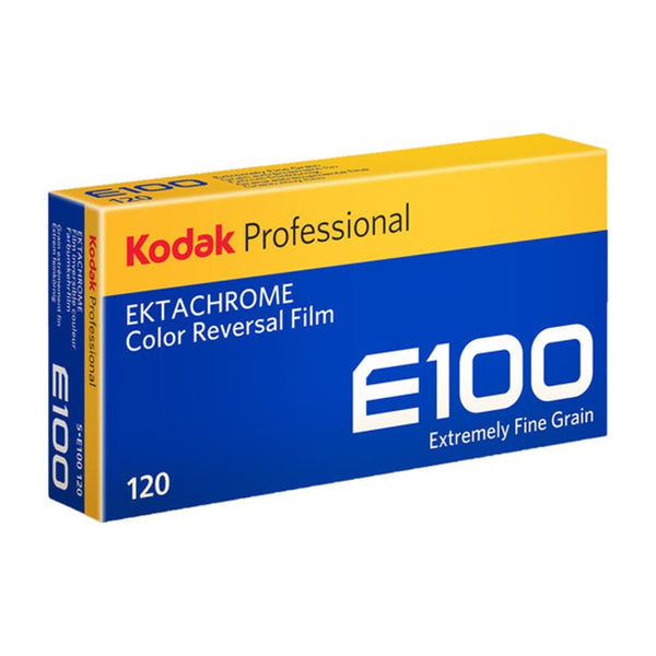 Ektachrome E100 Color Reversal Slide Film, 120 5 pack