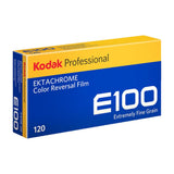 Ektachrome E100 Medium Format Color Reversal Slide Film, 120 Pro Pack (5 Rolls)