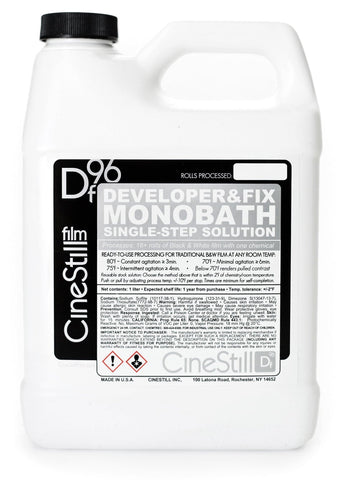 "Df96 ""Developer&Fix"" B&W Monobath, Single-Step Solution, 1000ml"