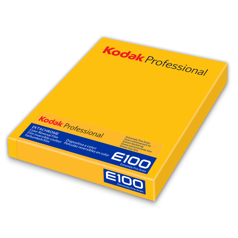 Ektachrome E100 4x5 Large Format Color Reversal Slide Film, 10 Pack