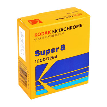 100D Color Reversal Film Ektachrome 7294, 50 Ft Super 8 Cartridge