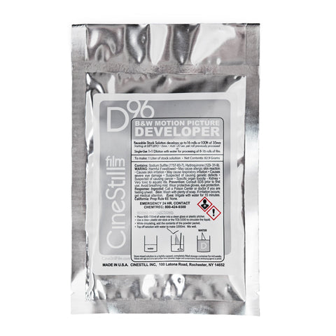 NEW D96 B&W Motion Picture Developer Powder