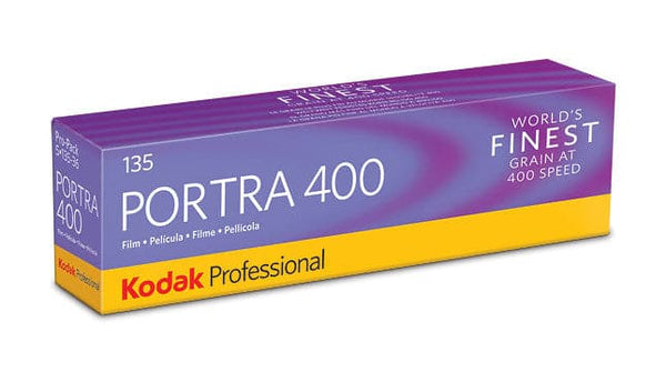 Portra 400 Color Negative Film, 35mm 36 exp. 5 pack