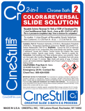 "Cr6 ""Color&Reversal"" 2-in-1 Slide Solution, for the Cs6 3-Bath Process (E-6 chrome)"