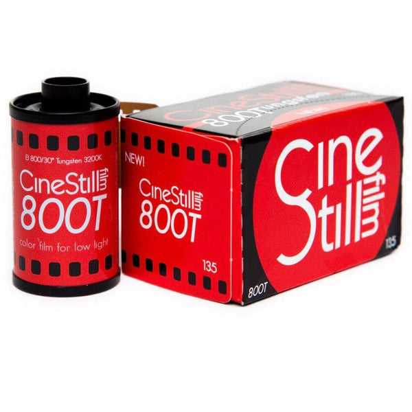 800Tungsten High Speed Color Film, 35mm 135/36exp. (ISO 800) (SHIPS THE 2ND WEEK OF DECEMBER)