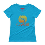 Stay Gold Ladies' Scoopneck T-Shirt