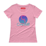 Still Silver Ladies' Scoopneck T-Shirt