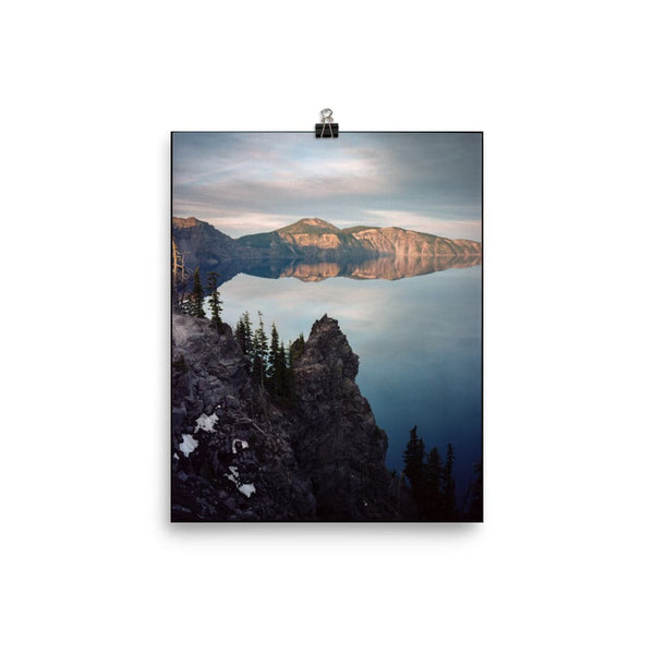 """Crater Lake, Oregon, 2020"" by Aidan Klimenko, 8x10 in. Fine Art Print"