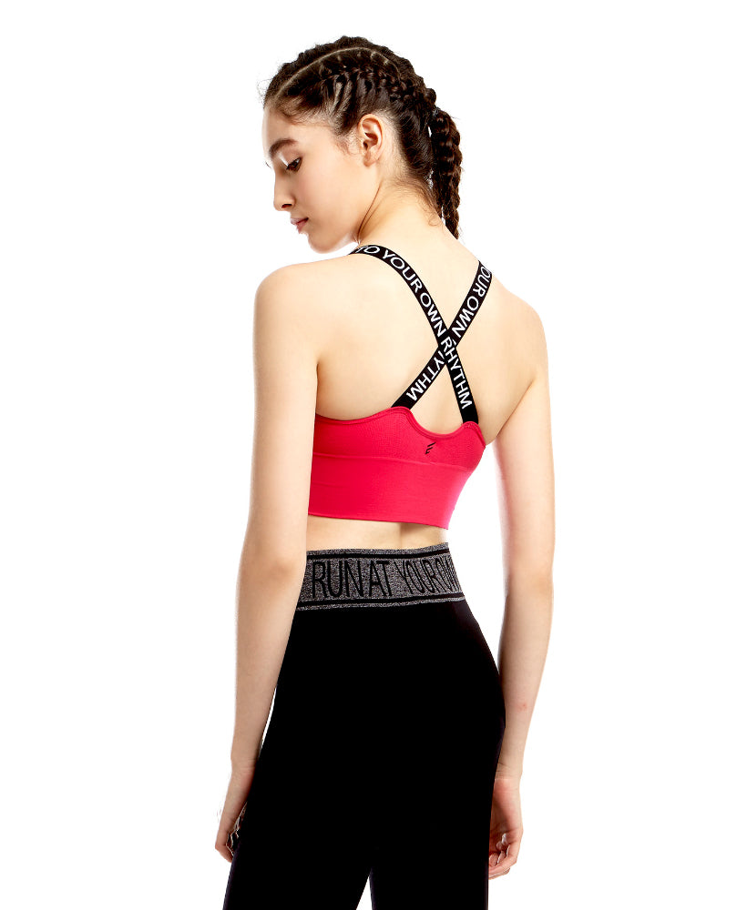 Energized Dance To Your Own Rhythm Sports Bra 206-2286