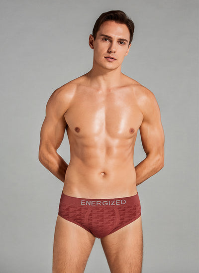 Energized Perfect Fit Jacquard Briefs 501-6843M