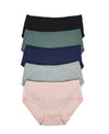 Ribbed Comfort Cotton Packaging Panties - Boxshorts 505-6640