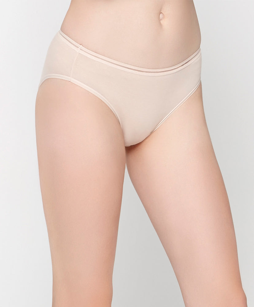La Vie En Rose Comfort Cotton Packaging Midi Panties 505-6665