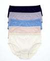 Nature Blues Comfort Cotton Packaging Panties - High Waist Panties 505-6667