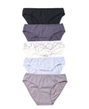 Graphic Imperfections Comfort Mini Cotton Panty 505-6777