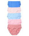 Spring Blues Comfort Midi Cotton Panties 505-6779