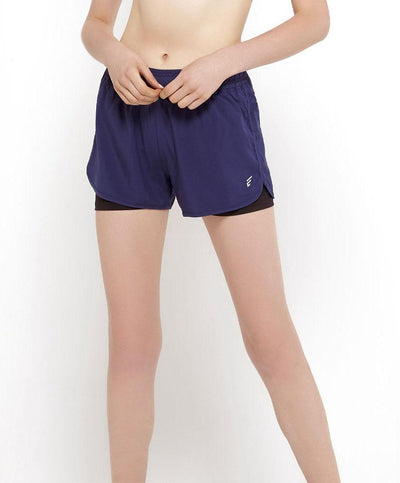 Energized Moisture Wicking Shorts With Inner Shorts 506-011162