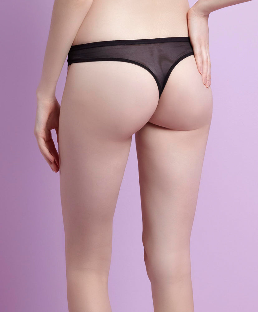 Luxe Boudior Lace Thong 509-6803L