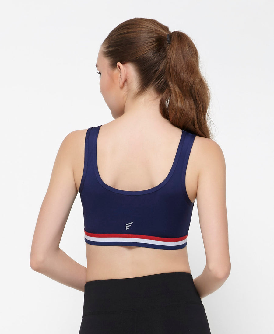 Energized Nautical Sports Bra 201-1037C