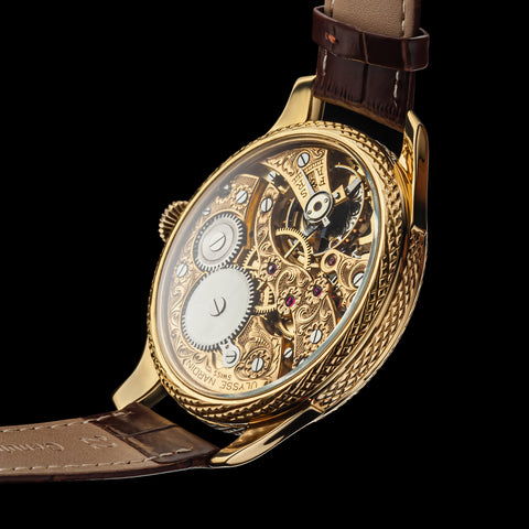 Ulysse Nardin pocket watch movement