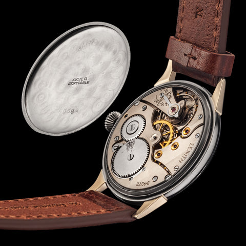 Historical Zenith Movement from the 1920s