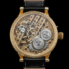 LeCoultre skeleton vintage wristwatch