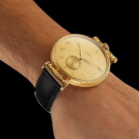 CLASSIC Men's Wristwatch fits High-Quality Vintage Mechanical Movement