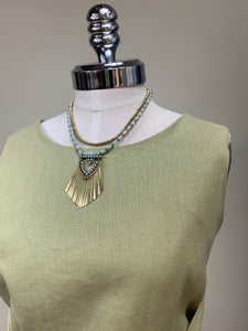 A&C Double Detailed Necklace