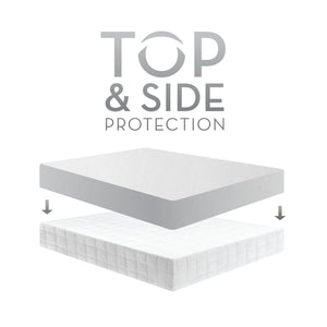 mattress protector which side up