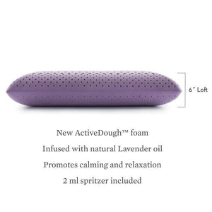 lavender infused pillow